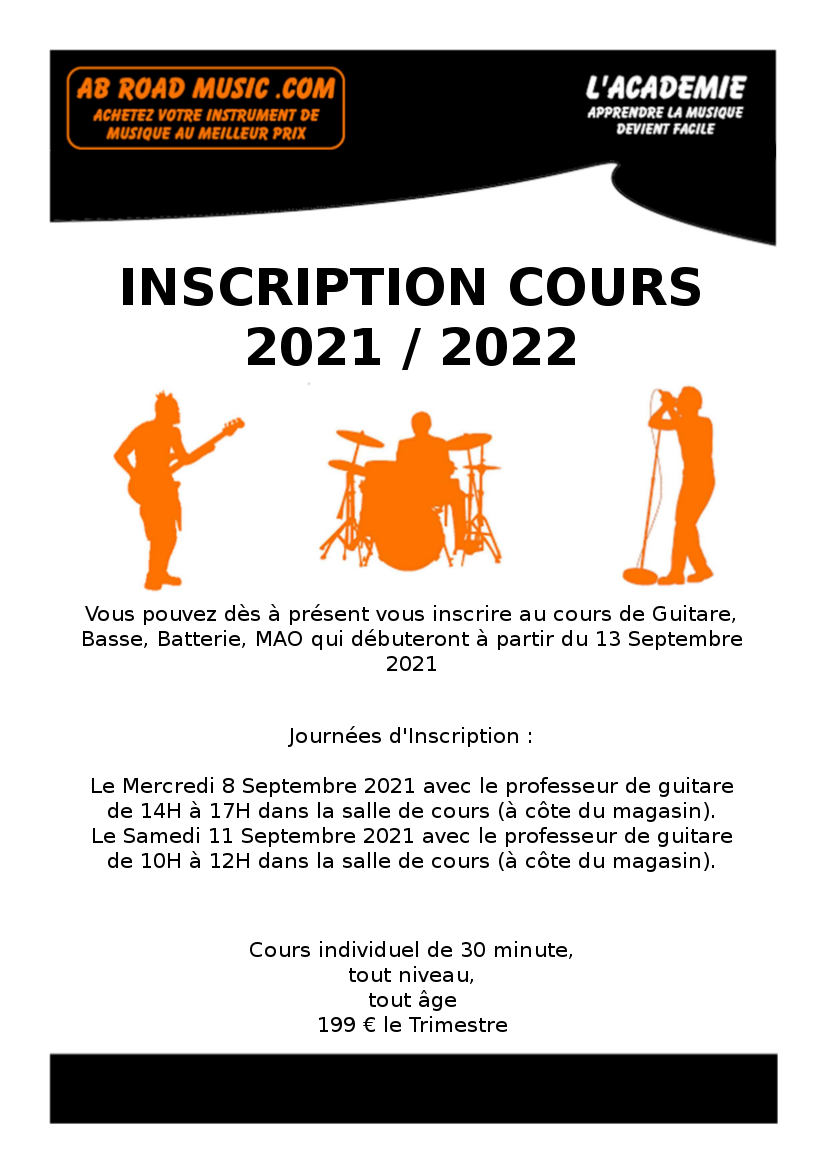 Cours de Musique 2021-2022